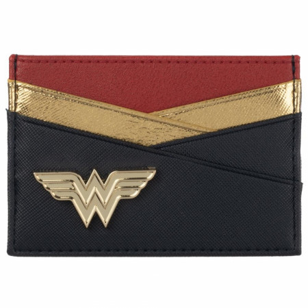 Wonder Woman Badge Card Wallet
