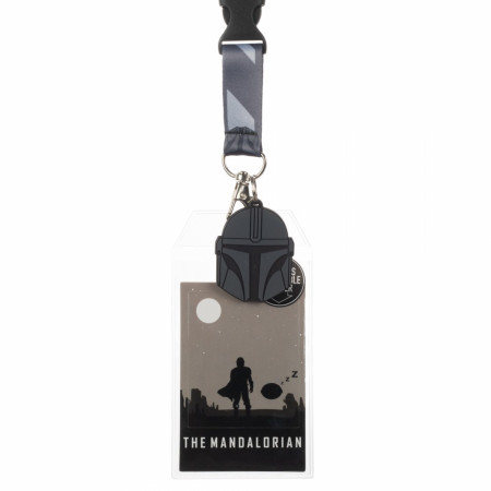 Star Wars Mandalorian and The Child Lanyard