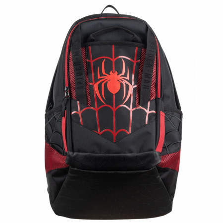 Spider-Man Black and Red Laptop Backpack