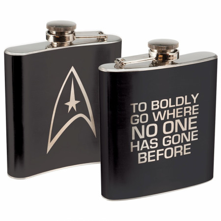 Star Trek Stainless Steel Flask