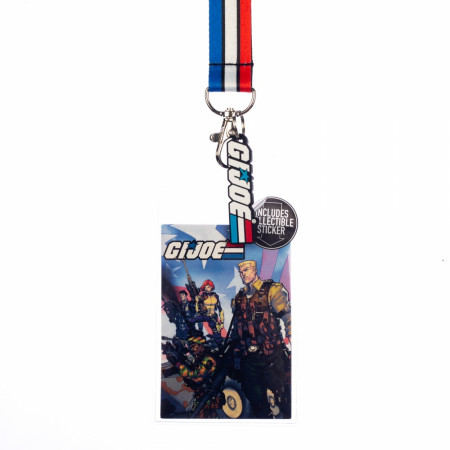 G.I. Joe Lanyard and Charm