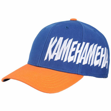 Dragon Ball Z Goku Pre-Curved Bill Snapback