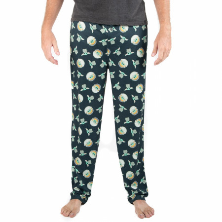 Star Wars The Mandalorian The Child All Over Print Sleep Pants