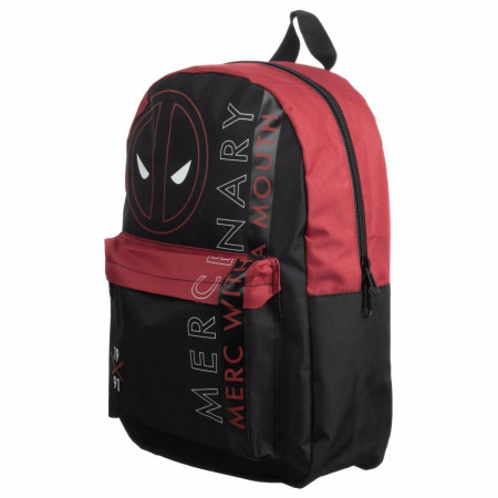 Deadpool Outline Artwork Mixblock Backpack