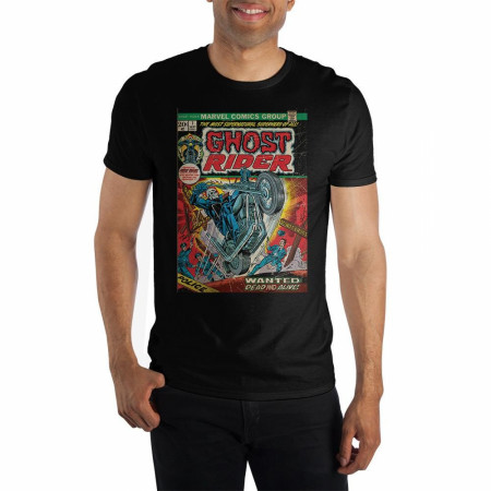 Marvel Ghost Rider Comic Cover T-Shirt