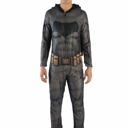 Batman Justice League Costume Union Suit with Cape