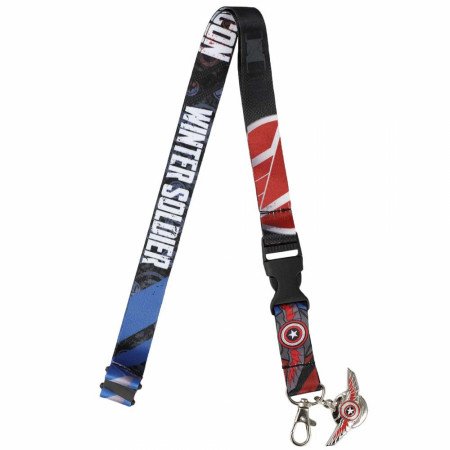 Marvel The Falcon and The Winter Soldier Lanyard
