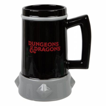 Dungeons & Dragons Sculpted Tankard with Metal Badge