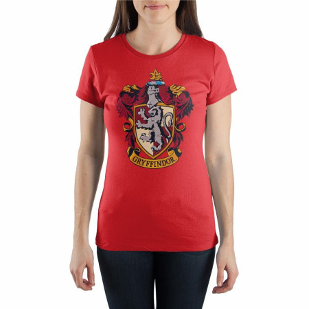 Harry Potter Gryffindor Crew Neck Women's T-Shirt