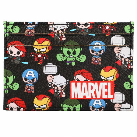 Marvel Heroes Chibi Characters Card Wallet