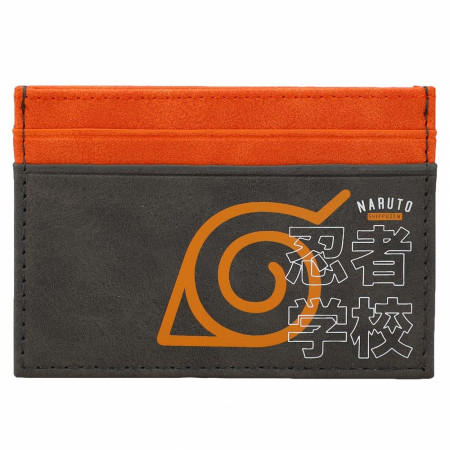 Naruto Hidden Leaf Village Card Wallet
