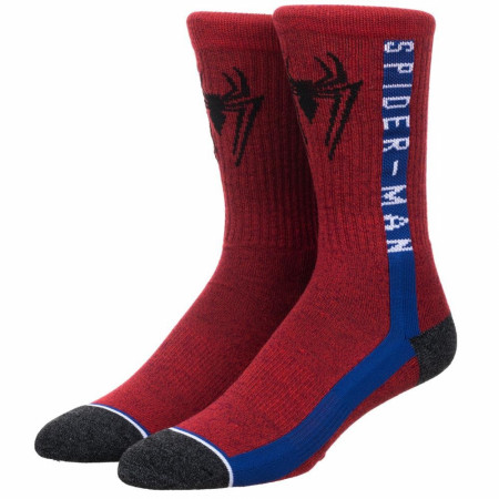 Spider-Man Athletic Men's Crew Socks