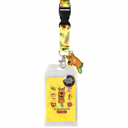 Scooby Doo Scooby Snacks Lanyard
