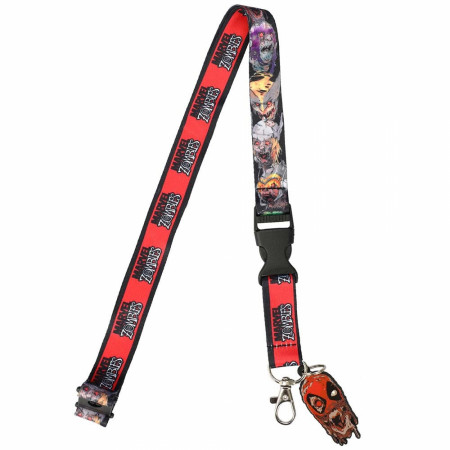 Marvel Zombies Collection Deadpool Lanyard