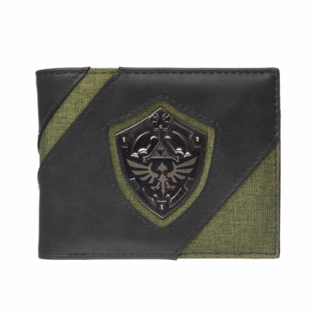 Legend of Zelda Shield Bifold Wallet