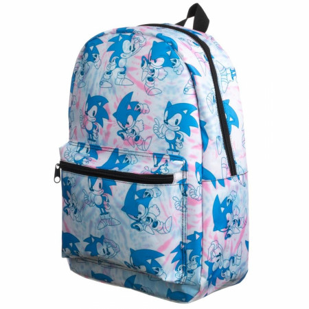 Sonic The Hedgehog Tye Dye Quick Turn Backpack