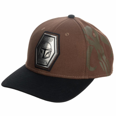 Star Wars The Mandalorian Pre-Curved Snapback Hat