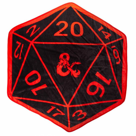Dungeons & Dragons Dice Shaped Throw