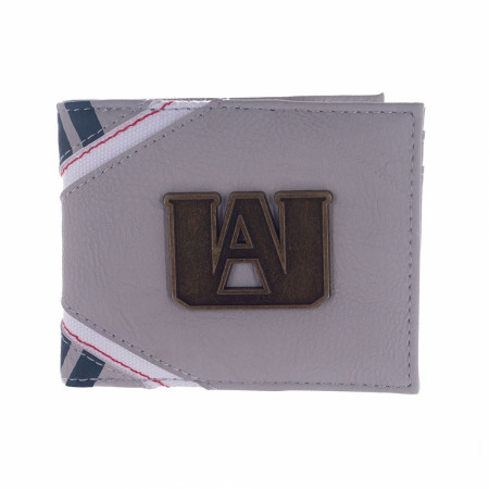 My Hero Academia Metal Badge Bi-fold Wallet