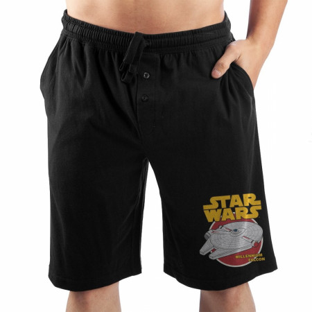 Star Wars Millennium Falcon Sleep Shorts