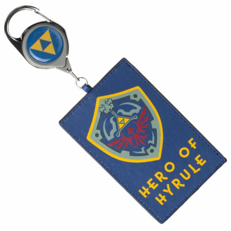 Legend Of Zelda Hero of Hyrule Shield Retractable Lanyard