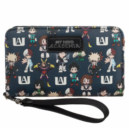 My Hero Academia Multi Character Tech Wallet