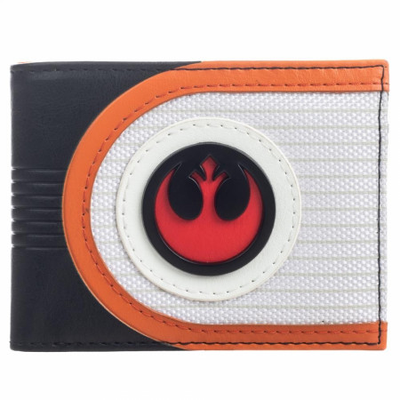 Star Wars Mixed Material Rebel Bifold Wallet