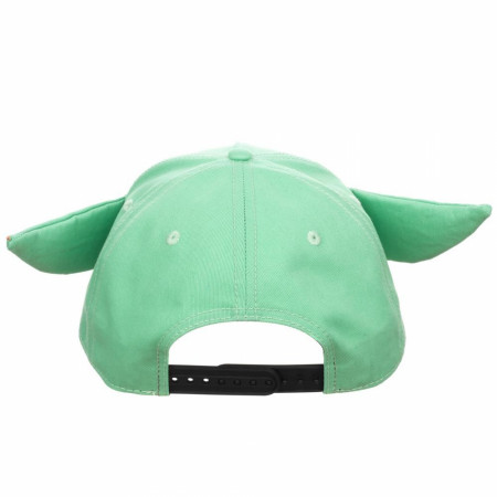 Star Wars The Mandalorian The Child Character with Ears Adjustable Snapback Hat