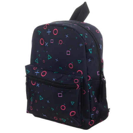 PlayStation Buttons All Over Sublimated Print Mini Backpack