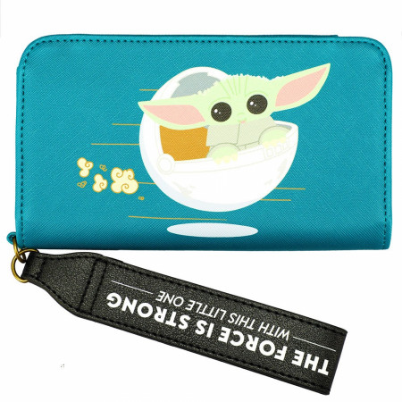 Star Wars The Mandalorian The Child Phone Wallet Wristlet