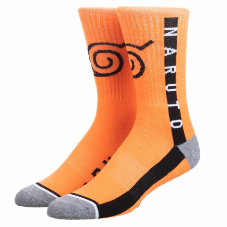 Naruto Taped Athletic Crew Sock