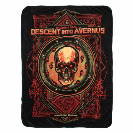 Dungeons & Dragons Baldur's Gate Fleece Throw
