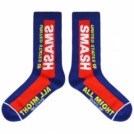 My Hero Academia States of Smash Casual Crew Socks