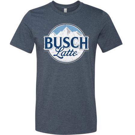 Busch Latte Mountain Logo T-Shirt