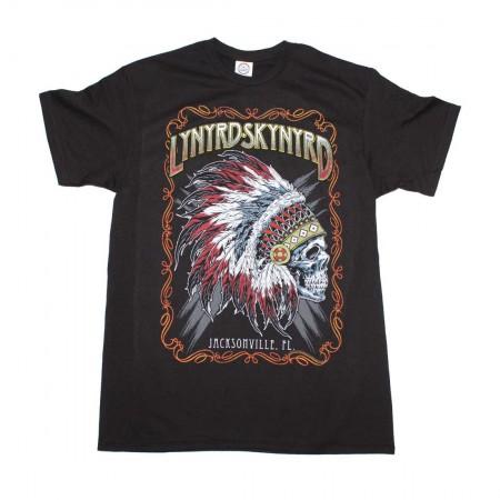 Lynyrd Skynyrd Indian Skeleton T-Shirt