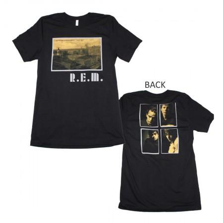 R.E.M. Athens Postcard T-Shirt