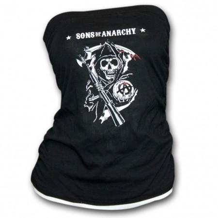 Sons Of Anarchy Reaper Logo Juniors Tube Top