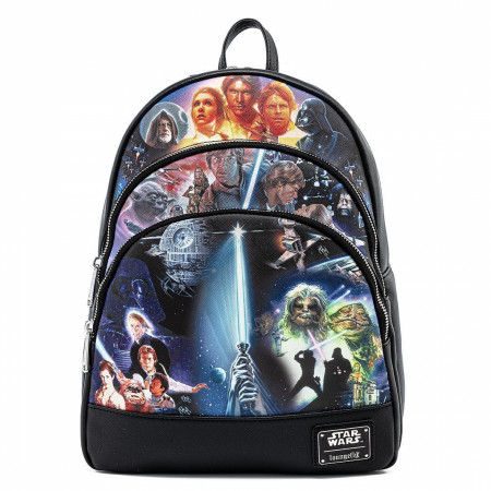 Star Wars Original Trilogy Mini Backpack by Loungefly