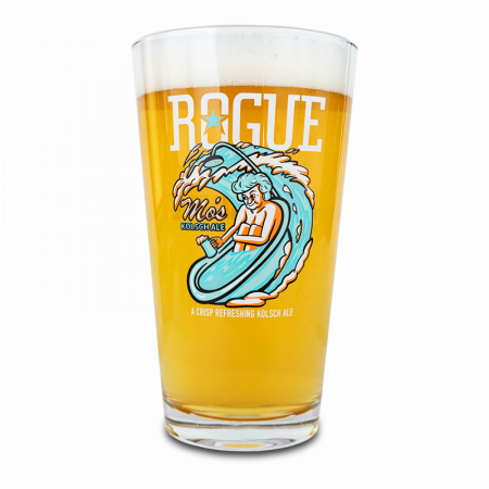 Rogue Mo's Kolsch Pint Glass