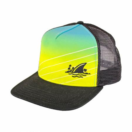 Landshark Fin Snapback Trucker Hat