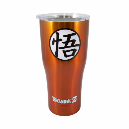 Dragon Ball Z Goku Symbol 30 oz. Travel Mug