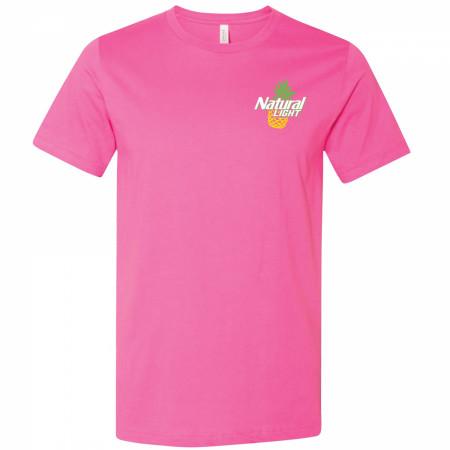 Natural Light Naturdays Pineapple Pink Colorway T-Shirt