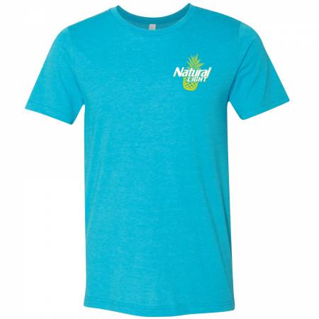 Natural Light Naturdays Pineapple Blue Colorway T-Shirt