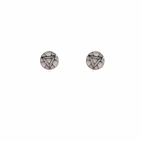 Iron Man Arc Reactor Stud Earrings