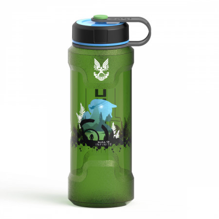 Halo Infinite UNSC Rugged Plastic 36oz Water Bottle