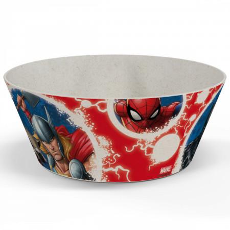 """Marvel Universe 6"""" Melamine & Bamboo Bowl"""
