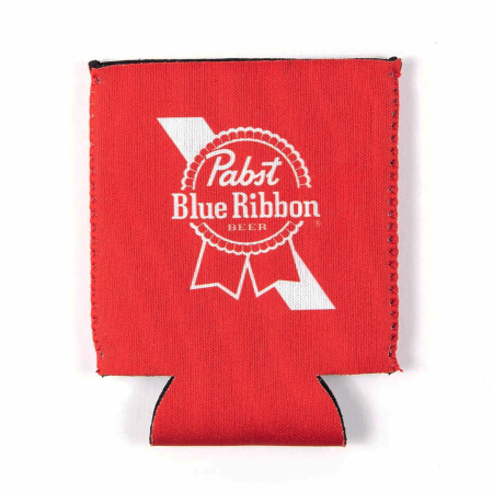 Pabst Blue Ribbon Red Can Cooler