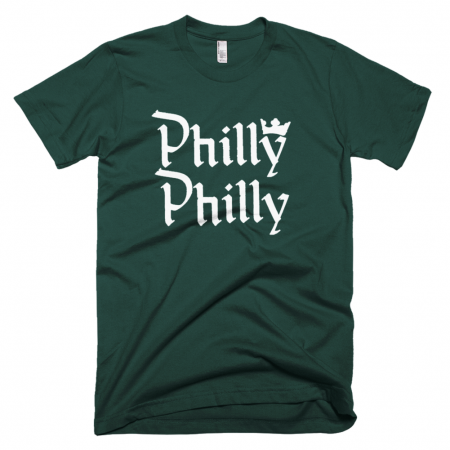 Philly Philly Forest Green Tshirt