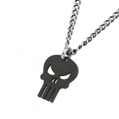 Marvel Punisher Skull Symbol Pendant Necklace