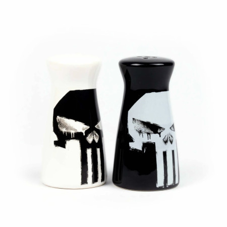 Punisher Salt and Pepper Shakers